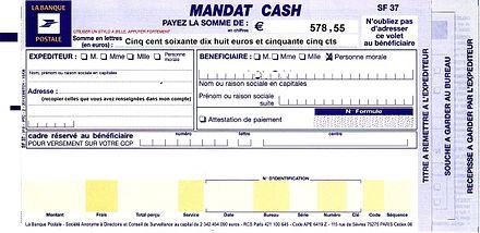 Mandat cash