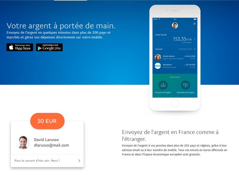 L'application mobile