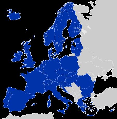 Couverture européenne